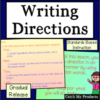 Writing Process : Writing Directions for Promethean Board Use