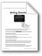 Writing Directions