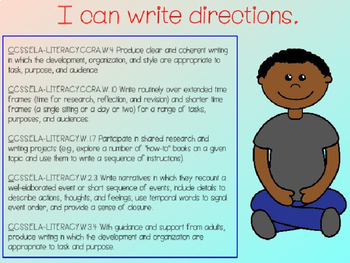 Writing Process : Writing Directions Power Point