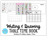 Writing & Drawing Practice Book