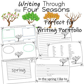 Writing   ELA   Science   Weather   Seasons   Writing Through the Seasons