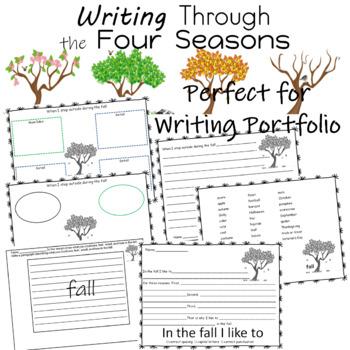 Writing   ELA   Science   Weather   Seasons   Writing Thro