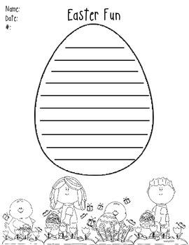 Writing- Easter Fun