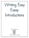 Writing Easy Essay Introductions-Bundle