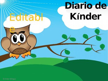 Writing EditableKinderJournalPromptsinSpanish