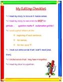 Writing- Editing Checklist