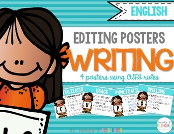 Editing and Revising Posters, CUPS Edition {English}