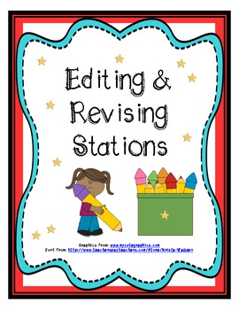 Writing: Editing & Revising Stations