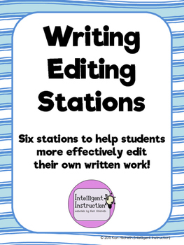 Writing Editing Stations