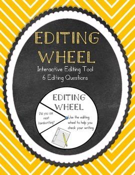 Writing Editing Wheel Revision Tool