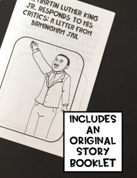 Martin Luther King, Jr. Editorial/Opinion Writing Activity