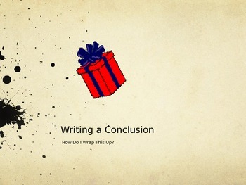 Writing Effective Conclusions: How Do I Wrap This Up?