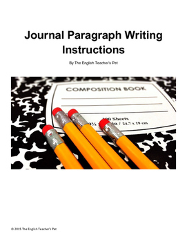 Writing Effective Journals: Printable Instructions and Examples