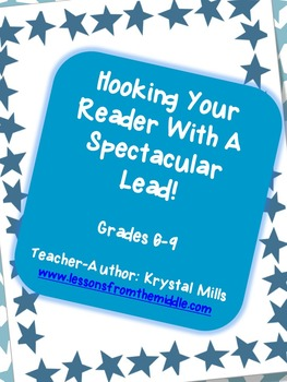 Writing Effective Leads: Language Arts PowerPoint Lesson Grades 6-9