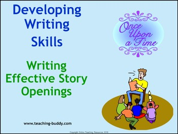 Writing Effective Story Openings (PowerPoint and worksheets)