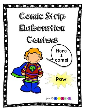 Writing Elaboration Fun with Comic Strips