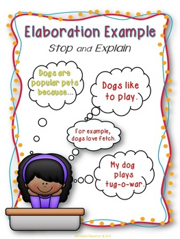 Paragraph Writing Elaboration Practice