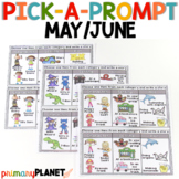 End of the year activities |  May June Writing Prompts with Pictures | Summer