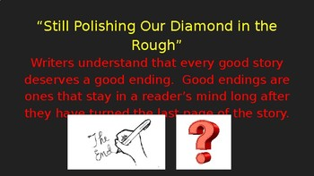 Writing Ending to Personal Narratives PowerPoint