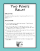 Writing Equations Given Two Points Relay (Game)