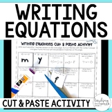 Writing Equations Activity