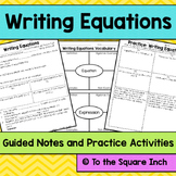 Writing Equations Notes