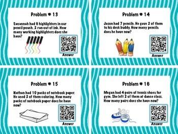 Writing Equations QR Codes
