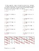 Writing Equations - Slope Intercept Form Given Point and Slope