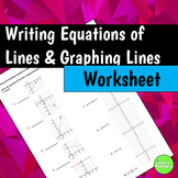 Writing Equations of Lines Graphing Lines in Slope Intercept Form