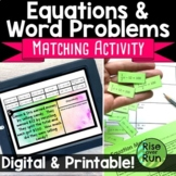 Writing Equations for Word Problems