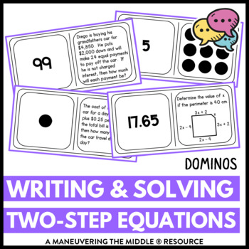Writing Equations from Real World Problems