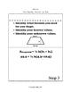 Writing Equations in Geometry INB TEKS 6.8C