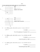 Writing Equations in Point-Slope Form - Notes and Assignment