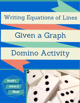 Writing Equations of Lines Bundle (5 products)