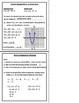 Writing Equations of Parabolas Foldable