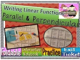 Writing Equations of Parallel & Perpendicular Lines Foldable & Lesson