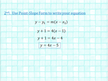 Writing Equations of Tangent Lines ( with the Limit Definition) - Calculus