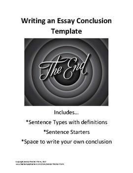 Essay Conclusion Template