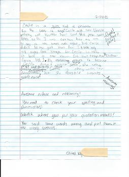 Writing Evidence-Based Responses With Student Examples