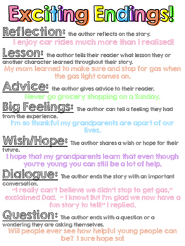 Writing Exciting Endings