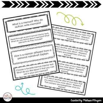 Writing Exit Slips - BUNDLE - (Grades 3-6)