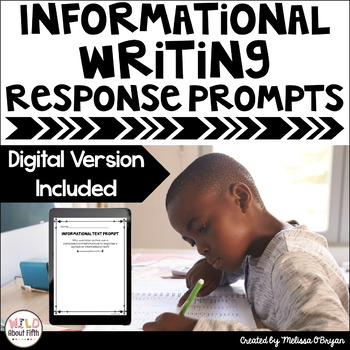 Informational Writing Exit Slips - Grades 3-6