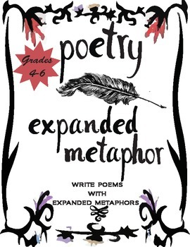 Metaphor Poetry Writing Activity Grades 4-6