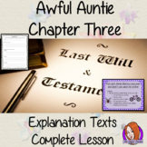 Writing Explanation Texts, Complete English Lesson on Awful Auntie