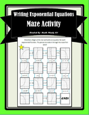 Exponential Functions - Maze Activity