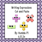 Writing Expressions Cut and Paste- 6.EE.2a