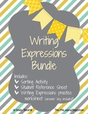 Writing Expressions Mini Bundle