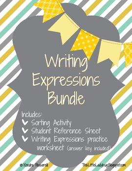 Writing Expressions Mini Bundle