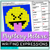 Writing Expressions: Mystery Picture (Emoji)