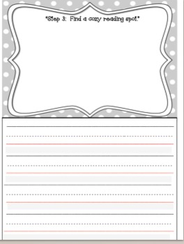"""Writing Extension for """"How to Read a Story"""" by Kate Messner"""